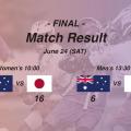 【日本U22代表】APLU|第8回APLUアジアパシフィック選手権大会結果まとめ